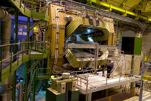 The LHCb detector.