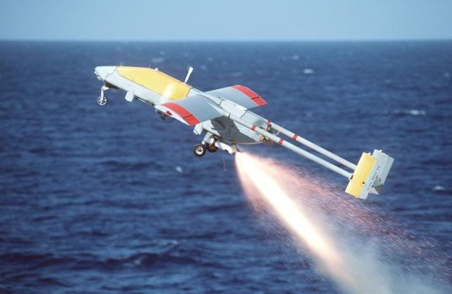 RPV away, off the stern of the USS <em>Iowa</em> in 1987.