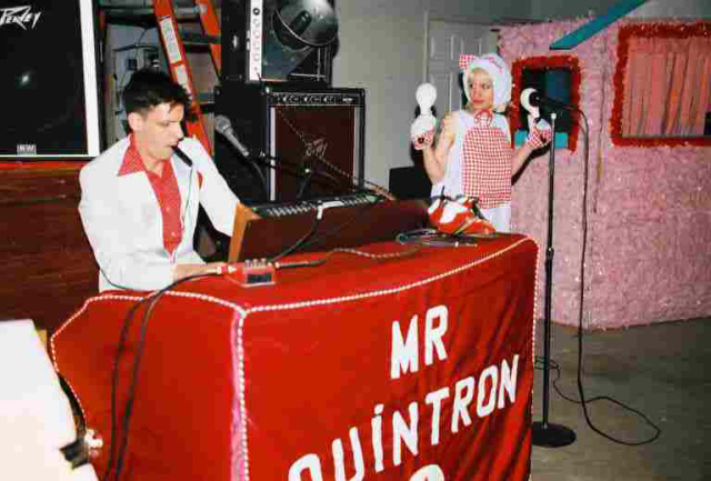 Mr. Quintron and Miss Pussycat perform in Memphis.