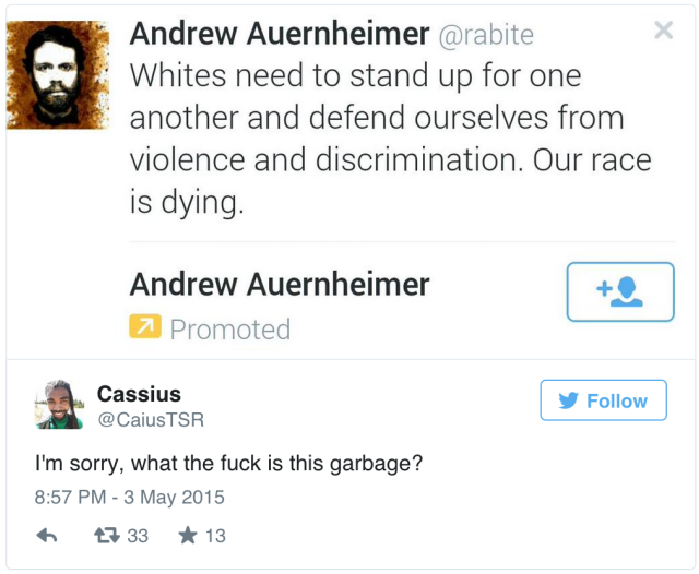 "How someone spent ""pennies"" to troll women, people of color via promoted tweets"