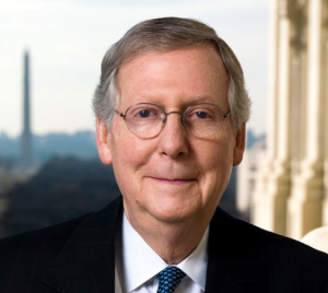 Senate Majority Leader Mitch McConnell (R-KY).