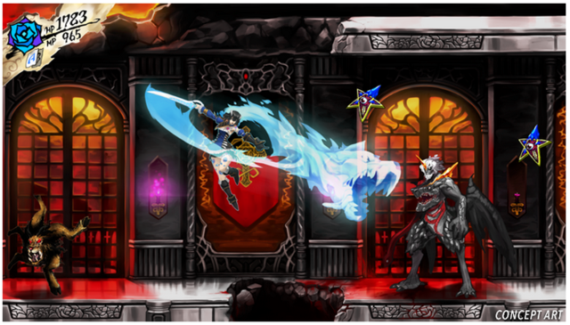 <em>Castlevan</em>—er, <em>Bloodstained</em>!