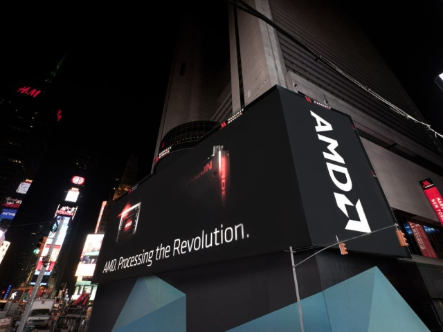 AMD takes next-gen GPU battle to giant 25,000 sq ft billboard in Times Square