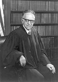 Justice Harry Blackmun.