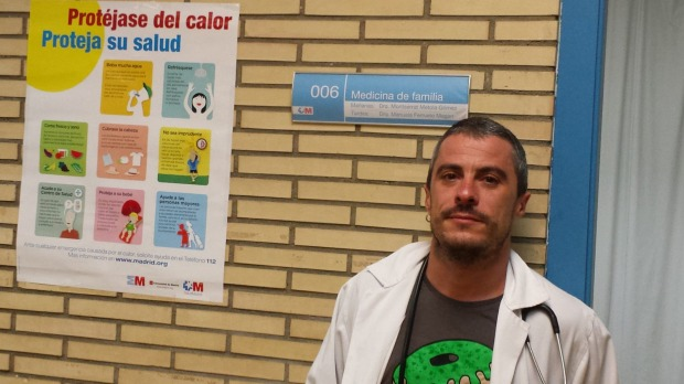 Dr. Fernando Caudevilla, who gave advice to drug users on Silk Road.