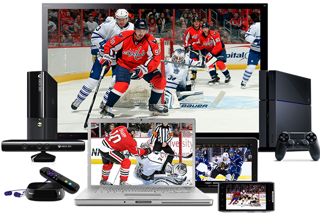 Like its baseball counterpart, NHL GameCenter Live only shows out-of-market games.