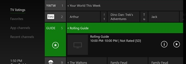 """Report: Xbox One to get DVR functionality, """"probably this"""