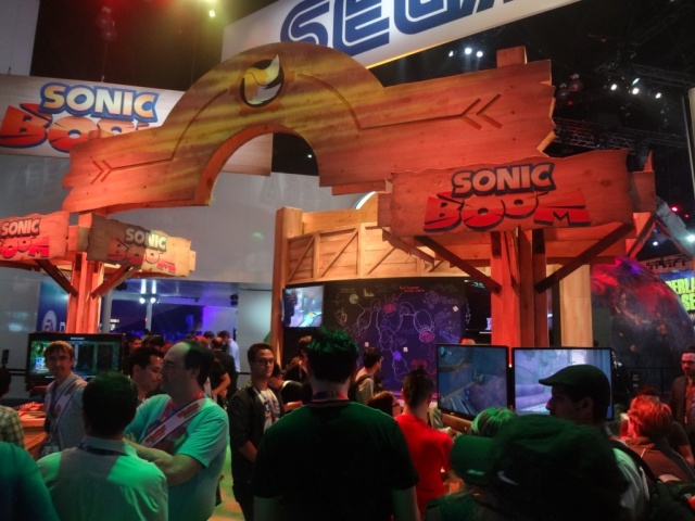 Scenes like this one from Sega's booth at E3 2014 won't be repeated at this year's show.