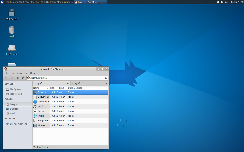 Xubuntu 15.04 with the brand new Xfce 4.12.
