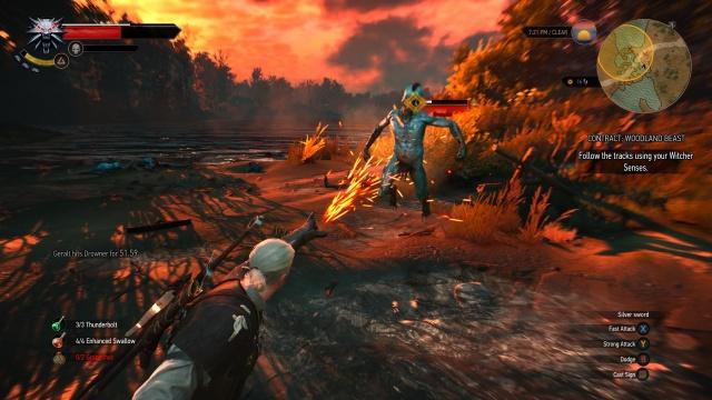 The massive open-world RPG <em>The Witcher 3: Wild Hunt</em>.