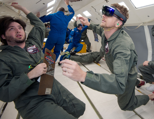 Microsoft's HoloLens is heading to the Space Station tomorrow aboard SpaceX CRS-7