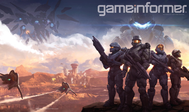 Game Informer's <em>Halo 5</em> issue: now on digital newsstands, coming soon to real-life ones.