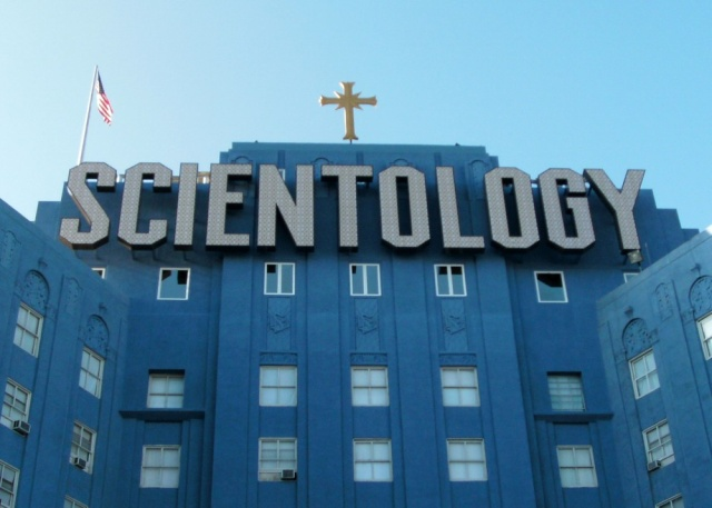 The Church of Scientology building in Los Angeles. Two critics of the church believe a private investigator hacked their e-mail on behalf of church officials.