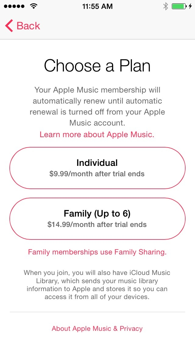 Apple Music impressions: Tunes for (a more generic version