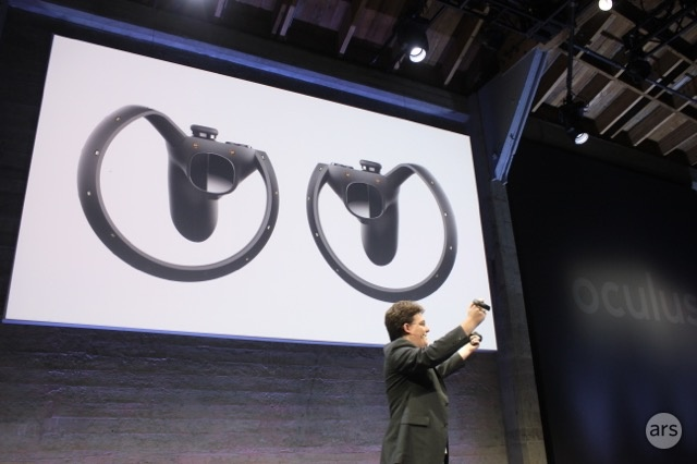 Say hello to the Oculus Touch controllers.