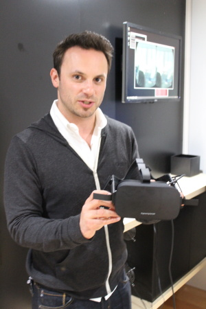 Hexbyte - Tech News - Ars Technica | CEO Brendan Iribe shows a prototype of the first consumer Rift hardware in 2015.