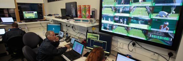 At the heart of Wimbledon lies the IBM bunker