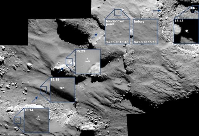 ESA's Philae comet lander wakes up after seven months of hibernation