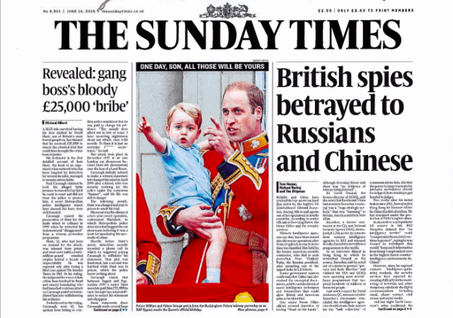 The Sunday Times sends DMCA notice to critics of Snowden hacking story