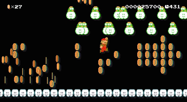 <em>Super Mario Maker</em> promises some pretty hectic custom <em>Mario</em> levels.