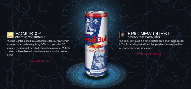 The decision facing <i>Destiny</i> players this fall: Wait three months for new content... or buy Red Bull.