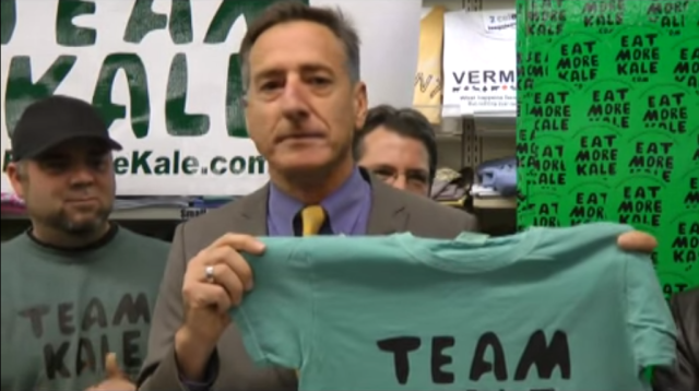 "Not his first rodeo: Long before the Facebook-Designbook dustup, Vermont Gov. Peter Shumlin was on ""Team Kale."""