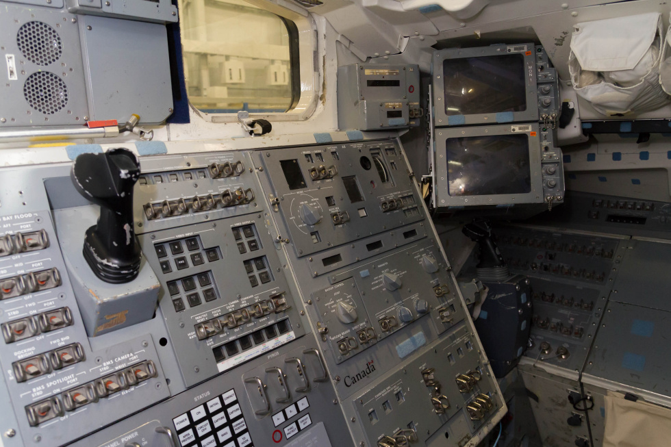 space shuttle cockpit trainer - photo #15
