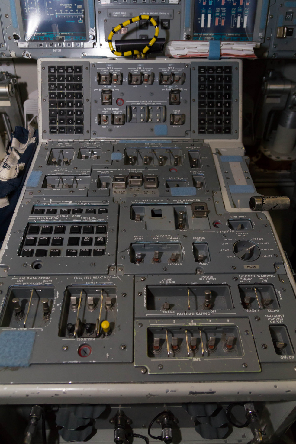 space shuttle cockpit trainer - photo #28