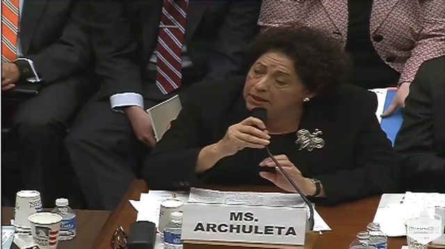 Office of Personnel Management Director Katherine Archuleta would be happy to discuss the particulars of the OPM brief with Congress—in a classified briefing.