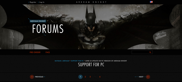 Batman: Arkham Knight for PC pulled from Steam and retailers due to bugs