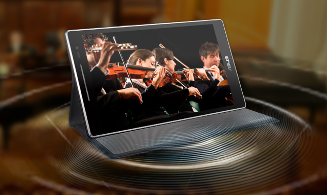 Asus' new ZenPad tablet has a cover that adds 5.1 surround sound
