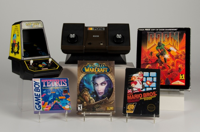 First Gaming Hall of Fame class includes Pong, Tetris, and Mario