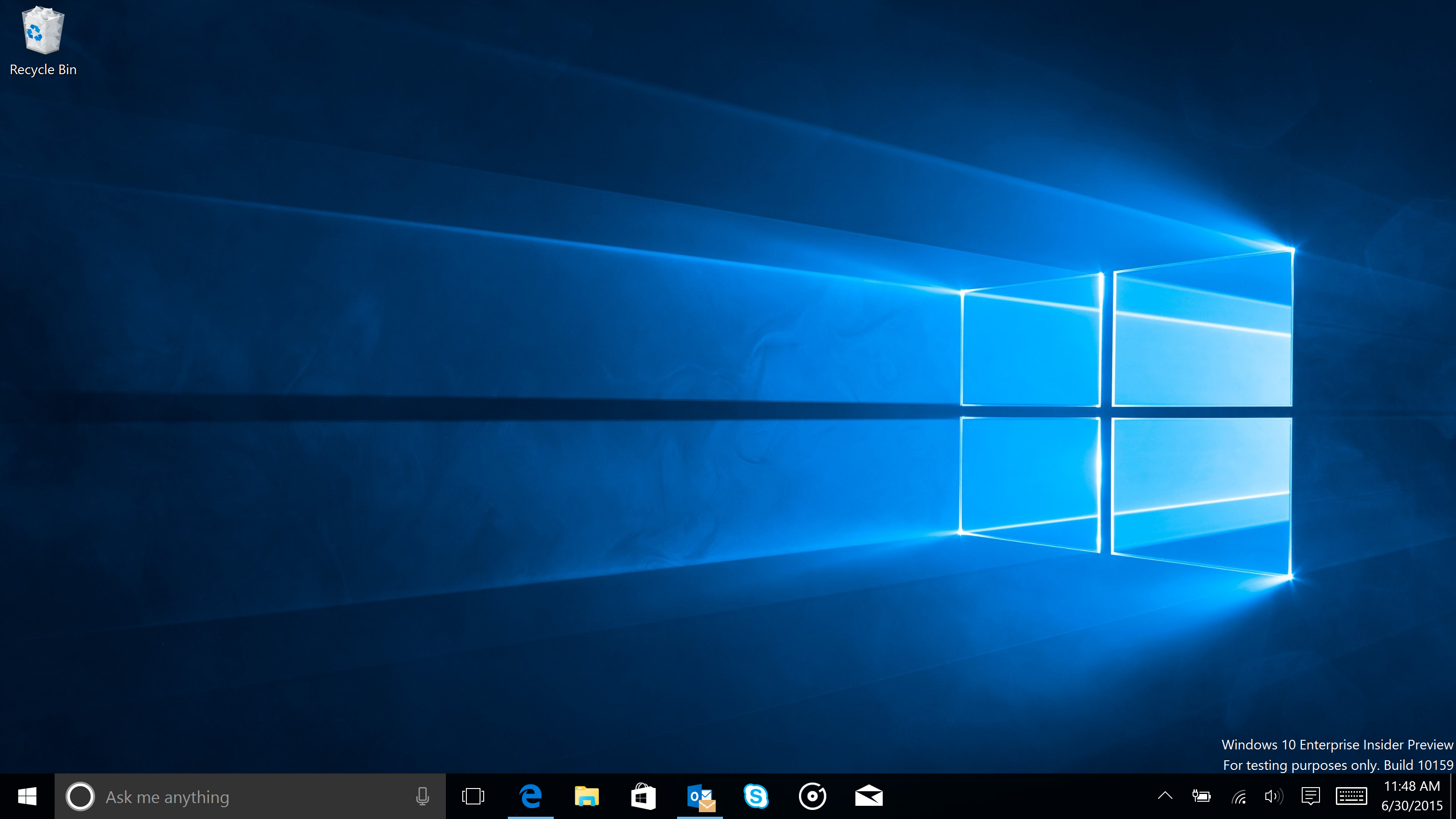Daily builds microsoft bangs out two public windows 10 for Screen new window