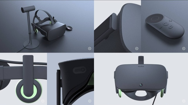 The final Oculus headset and controller may look nothing like this... but then again, they might.