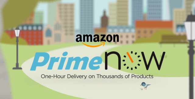 Amazon's one hour Prime Now delivery service arrives in the UK