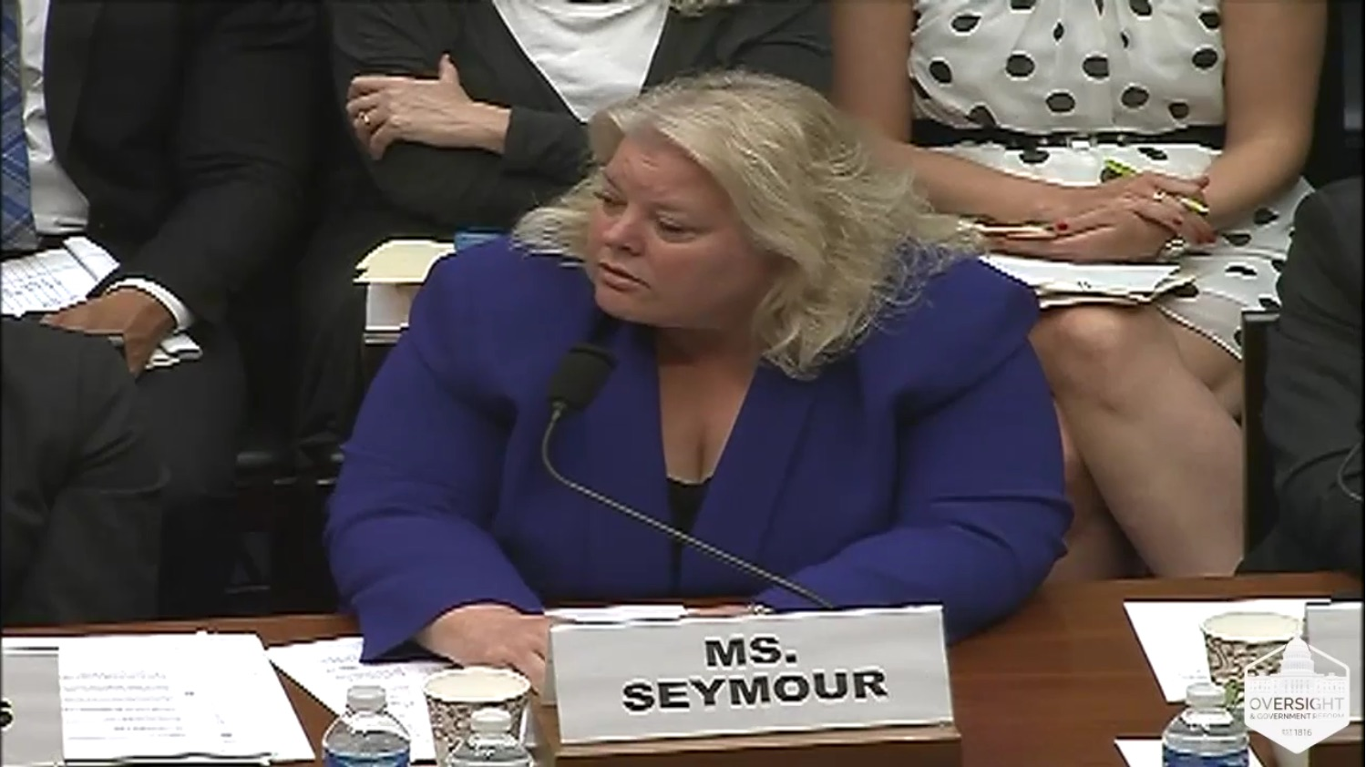 OPM CIO Donna Seymour said that systems couldn't simply have encryption added because some of them were over 20 years old and written in COBOL.