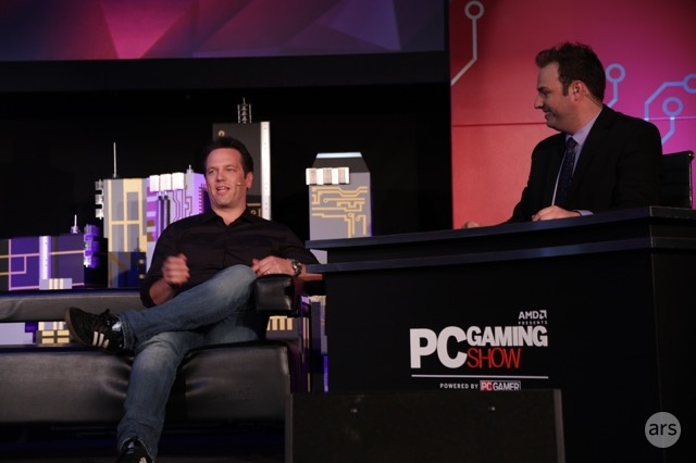 Phil Spencer was quite literally inescapable at this year's E3 press conferences.