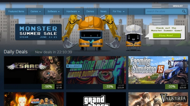 """Lock up your wallet: Steam's """"Monster Summer Sale"""" is live"""