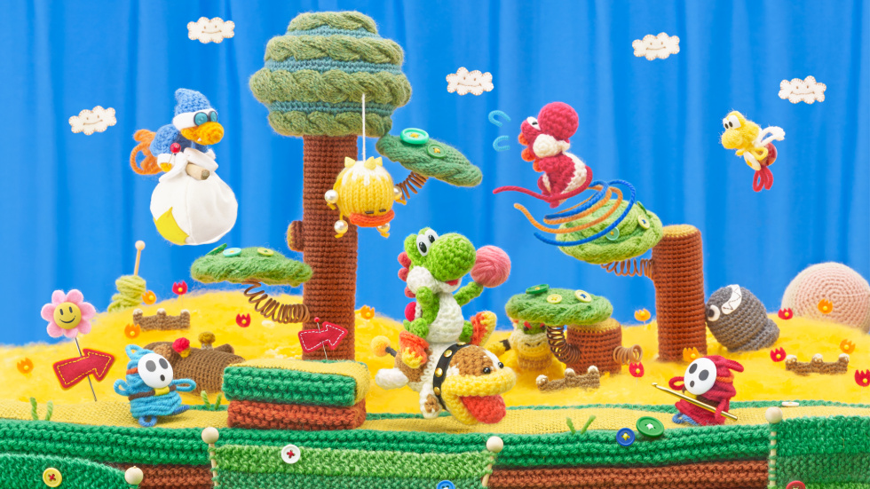 Yoshi's Woolly World reviewed: A warm, woolly platforming hug