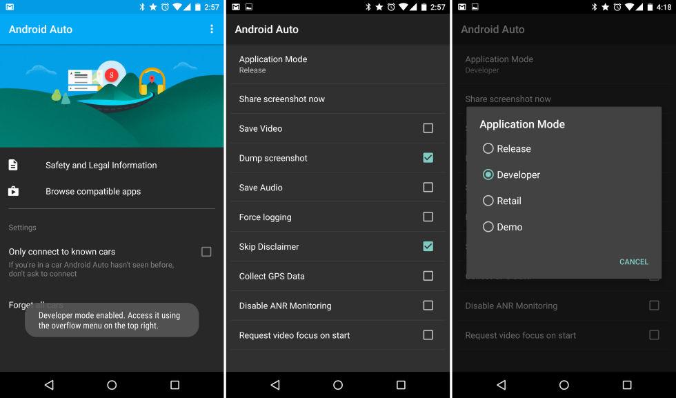 android auto secrets hint at vehicle diagnostic app expanded car integration ars technica. Black Bedroom Furniture Sets. Home Design Ideas