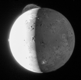 Full circle: on its way to Pluto, NASA's New Horizons imaged the volcanoes that the Voyagers first identified.