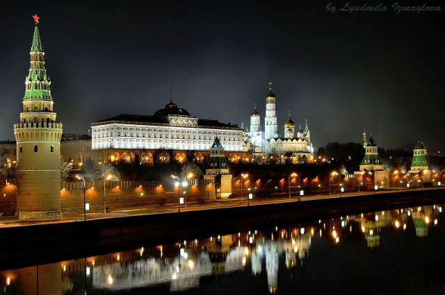 The Kremlin has been the seat of Russian political power since the 15th century.