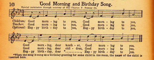 "Warner lawyers: 1922 songbook with ""Happy Birthday"" lyrics wasn't ""authorized"""
