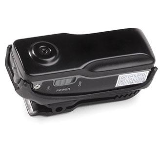Principals in Burlington, Iowa, will soon wear tiny clip-on body cameras like this.