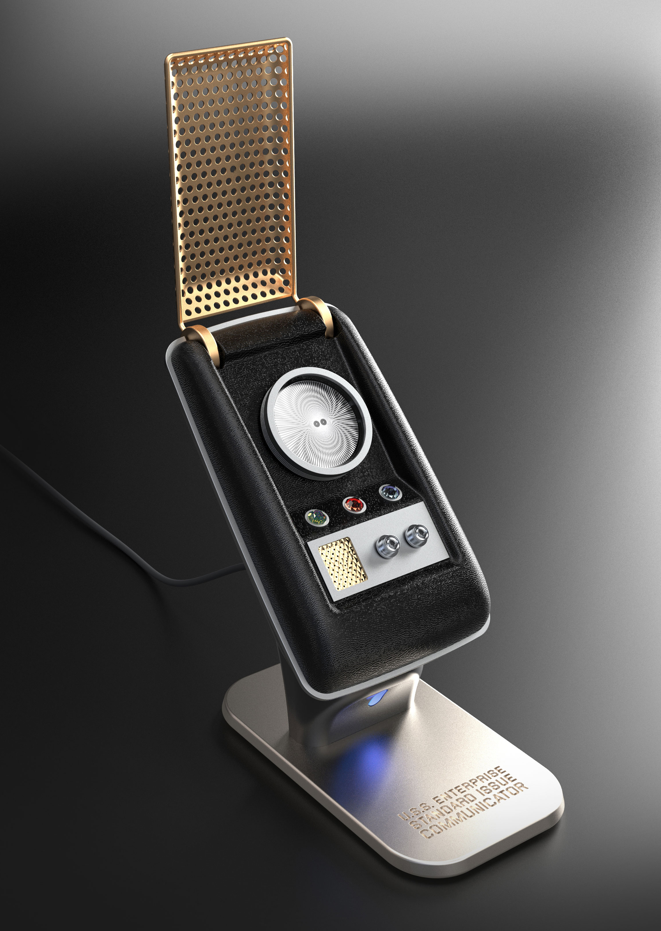 Bluetooth Star Trek communicator shows just how awesome