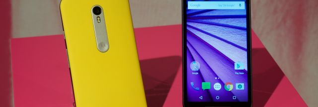 Hands-on with the brand-new waterproof Moto G, another $180 wonder