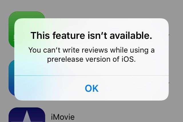 Apple disables App Store reviews from devices running iOS 9 betas