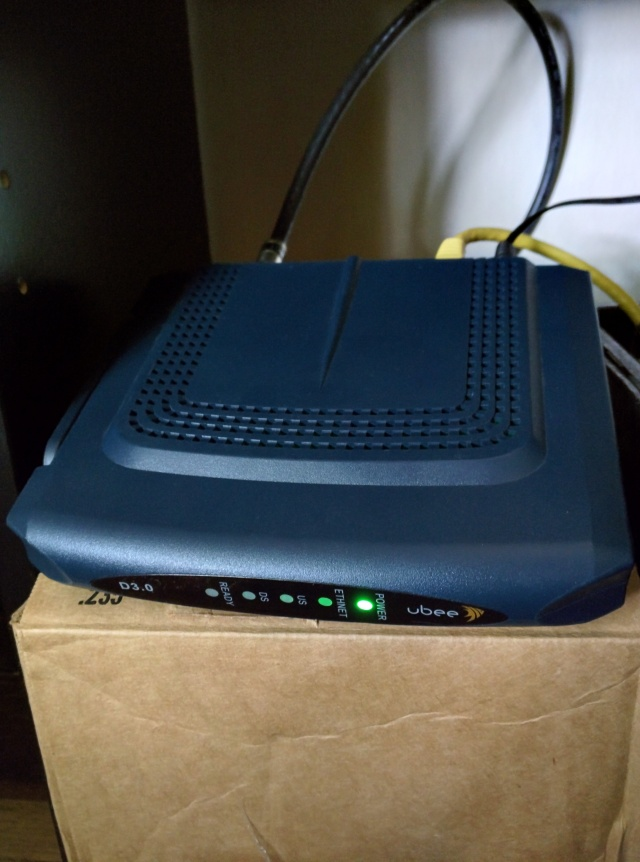 Oh, Ubee DDM3513. And here I thought you were the hassle-free, DOCSIS 3.0-compliant modem of my dreams.