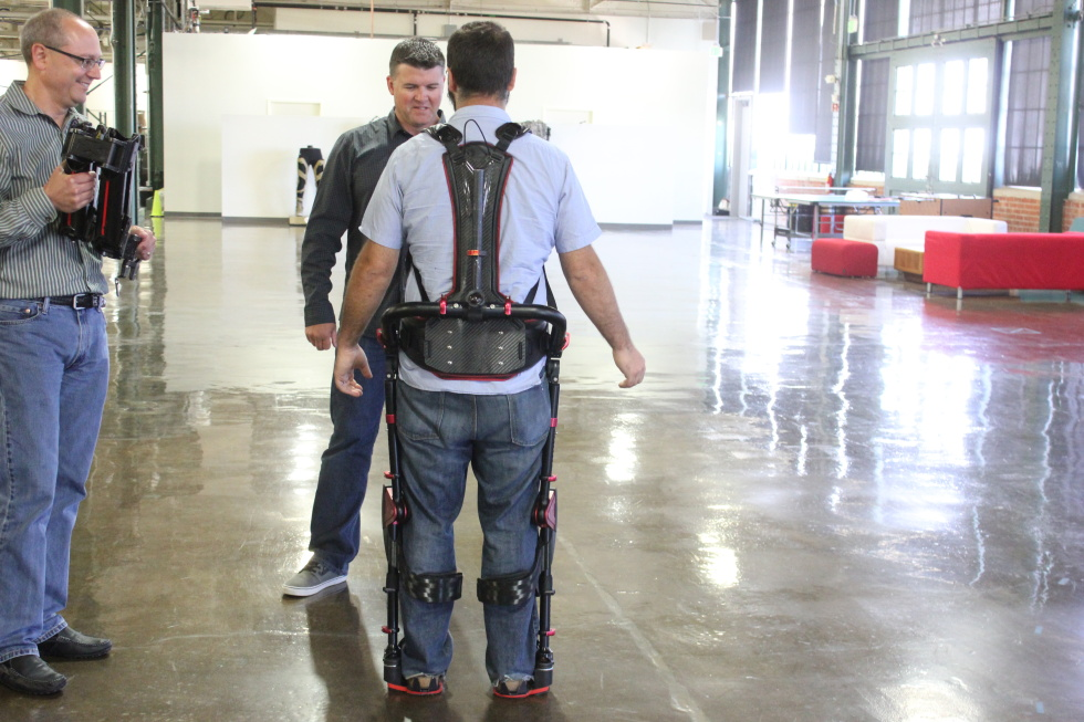 This Magic Exoskeleton For Industrial Workers Is The