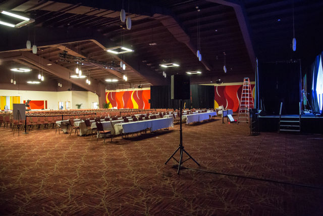 Our testing venue: the Tropicana in Las Vegas.
